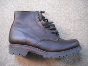 NEW LL Bean women's Leather Boots (brown) *size 9-1/2