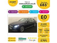 Mercedes-Benz C220 FROM £83 PER WEEK!
