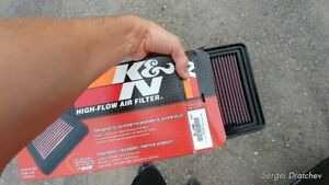 K&N Air Filter Part #33-2480 -- Fits Mazda models