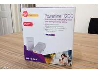 Netgear Powerline 1200 Powerful Gigabit Network Excellent Condition