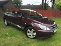 Peugeot 307 CC 2.0 16v Coupe Convertible , Genuine 40k Miles !
