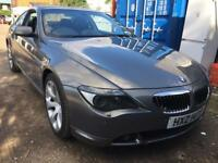 BMW 6 Series 4.4 645Ci Auto 2dr PANORAMIC ROOF