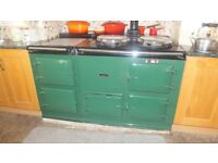 4 Oven oil fired Aga in good condition