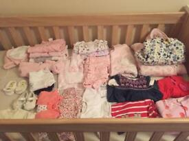 Newborn baby girl clothes 0-3 months baby girl bundle