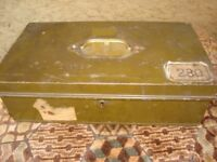 Metal Army Box.