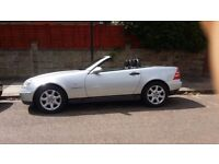 Only £1750 GREAT LOW MILEAGE CONVERTIBLE SLK KOMPRESSOR 230 ONLY 2 OWNERS