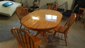 CHEAP dining table set for sale! $100 OBO