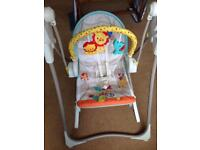 Baby musical swing in excellent condition.