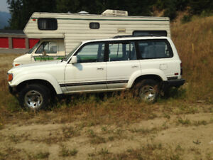 1992 Toyota Land Cruiser Stock SUV, Crossover