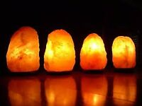 Himalayan salt lamps and Himalayan Candle holders NEW ITEMS