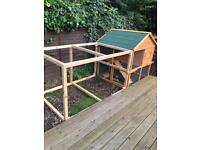 Chicken coop/rabbit hutch /guinea pig and run. Can be modified for any.