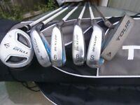 Junior set of 6 clubs + bag