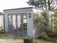 luxury handbuilt garden buildings