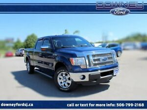 2012 Ford F-150 Lariat 4x4 SuperCrew Cab 5.5 ft. box 145 in. WB