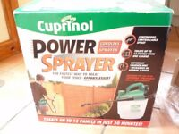 Paint sprayer CUPRINOL Cordless rechargable 12v sprayer
