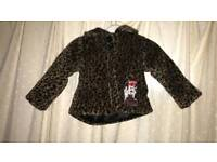 Girls Minnie mouse coat