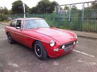 1969 MGB GT - Red