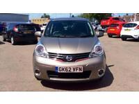2012 Nissan Note 1.4 N-Tec+ 5dr Manual Petrol Hatchback