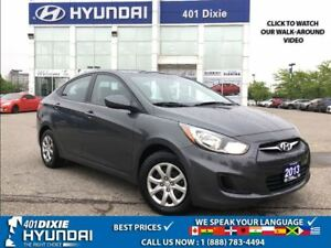 2013 Hyundai Accent GL|1 OWNER!!|A/C|HEATED SEATS|BLUETOOTH|