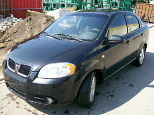 2007 Pontiac Wave 3 MONTHS WARRANTY Sedan