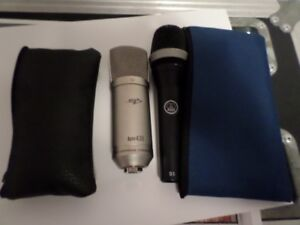 2 microphones to trade for a thin crash cymbale