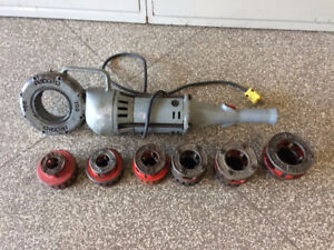 I have Two Ridgid 700 With Dies Threaders For Sale