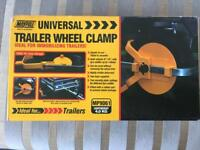 Maypole universal trailer wheel clamp brand new in box
