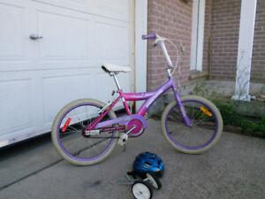 Girls cream soda bike