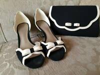 Jacques Vert shoes and bag