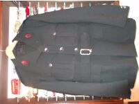 RUC UNIFORM - TUNIC AND TROUSERS - APPEAR TO HAVE BEEN UNUSED - IN VGC. BANGOR AREA. £60.