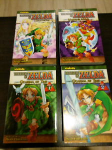 Legend of Zelda Manga