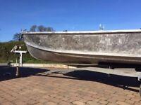 13ft Pearly Miss aluminium boat