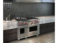 Ex Display Wolf 48 inch Range cooker with Chargrill Sub Zero Appliance INC VAT