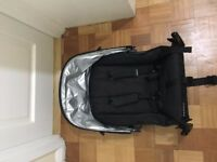 Nearly new Uppababy Rumble Vista 2014 Second Seat, Black