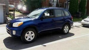 Belle Toyota  Rav4 2003,A/C,grpe electric,propre,AWD,special
