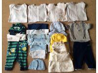 Baby Boy Clothes 0 - 3 Months - Bargain £10