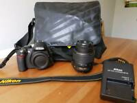 Nikon D3100 with 18-55mm lense