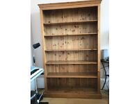 Solid wood bookcase/shelf, from JB McLean.