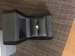 Exquisite Diamond Platinum Ring