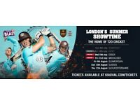 Surrey v Middlesex T20 Blast 3 x tickets (£25 each = £75 for the set) for TONIGHT 21 July 2017