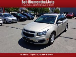 2015 Chevrolet Cruze 2LT w/ Leather, Sunroof, Loaded. Financing