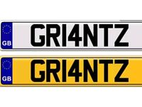 GRANT GRANT'S GRANT'Z private number plate for sale