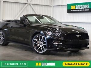 2015 Ford Mustang EcoBoost Cabriolet (cuir-caméra-navi)