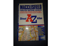 A-Z Macclesfield map