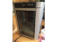 WINE COOLER SWS 180 - 6 bottle desktop fridge - pick up Bramhope, LS16