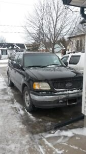 2001 Ford F150 SuperCrew 4 Door Lariat Pickup Truck....As Is