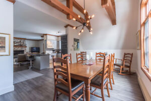 Spring skiing in Tremblant- 3 bedroom mountain condo