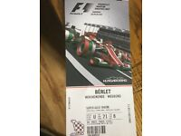 Weekend tickets Hungary f1 2017