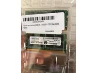 8GB Crucial Ram (Apple MacBook Pro)