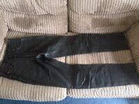 Women's Biker Trousers (Barely Used)